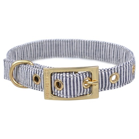 Railroad Stripe Dog Collar - Medium - Boots & Barkley™ - image 1 of 1