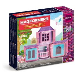 Magformers Mini House Building Set - 42pc
