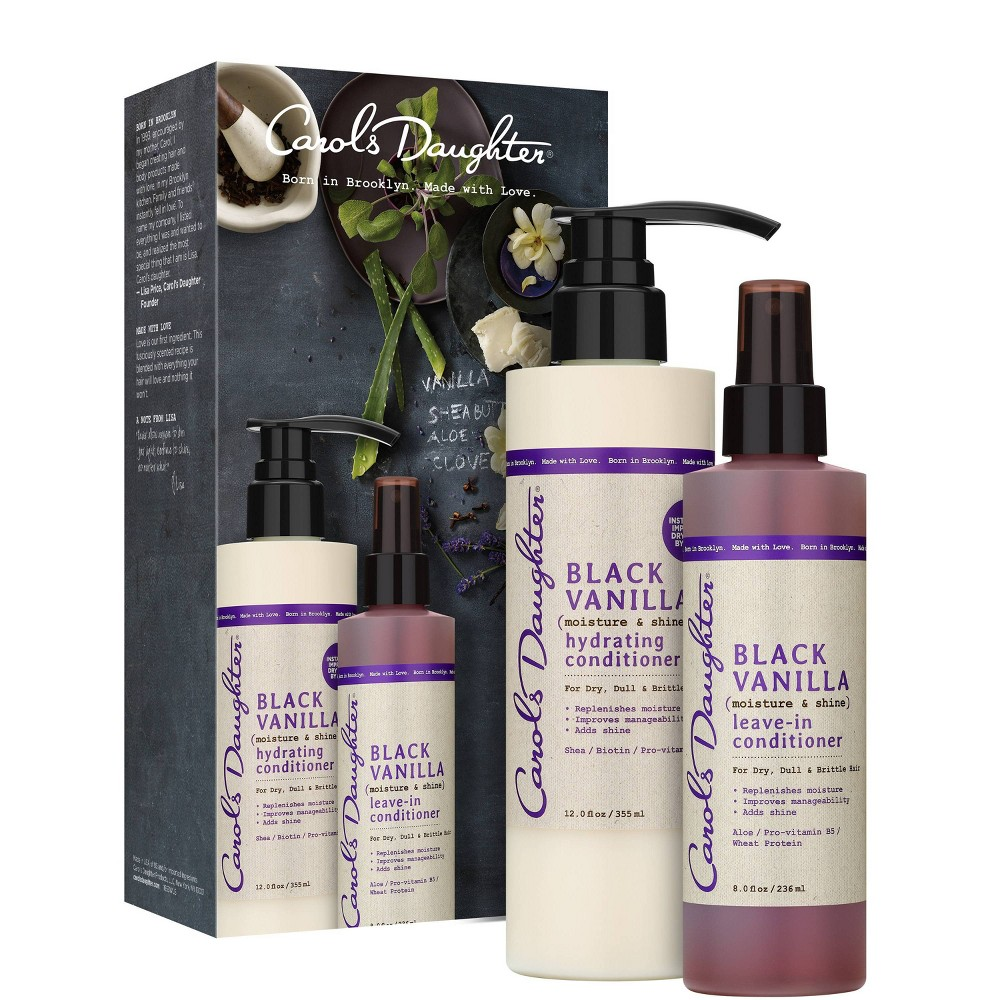 Image of Carol's Daughter Black Vanilla Conditioning Kit - 1.54lb