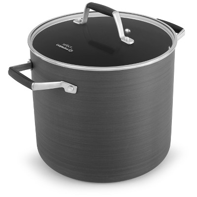 Select by Calphalon™ 8 Quart Hard-Anodized Non-stick Stock Pot with Cover