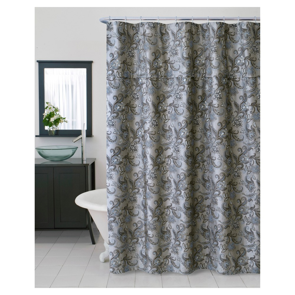 Image of Bella Shower Curtain Beige - Homewear