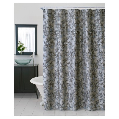 Bella Stall Shower Curtain Beige   Homewear : Target