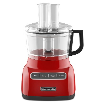 KitchenAid Refurbished 7 cup Food Processor - Red RKFP0711