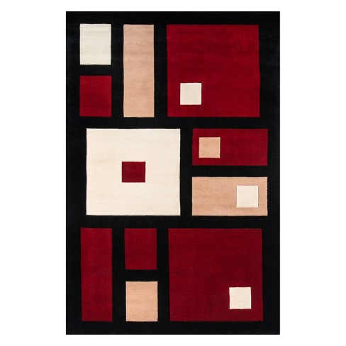 New Wave Bacall Geometric Tufted Accent Rug - Momeni - image 1 of 4
