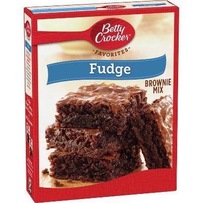 Betty Crocker Fudge Brownie Mix - 18.3oz