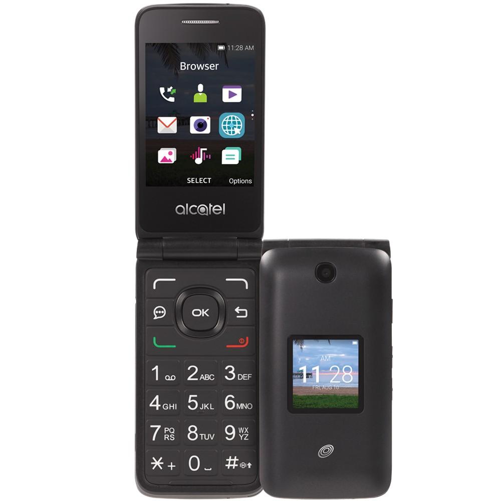 Tracfone Prepaid Alcatel Myflip (4GB) Flip Phone - Gray was $19.99 now $9.99 (50.0% off)