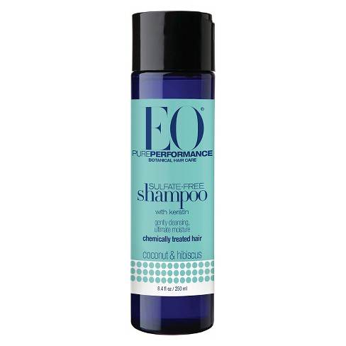 EO Products Everyone Chemically Treated Hair - Coconut & Hibiscus Sulfate-Free Shampoo - 8.4 fl oz - image 1 of 1