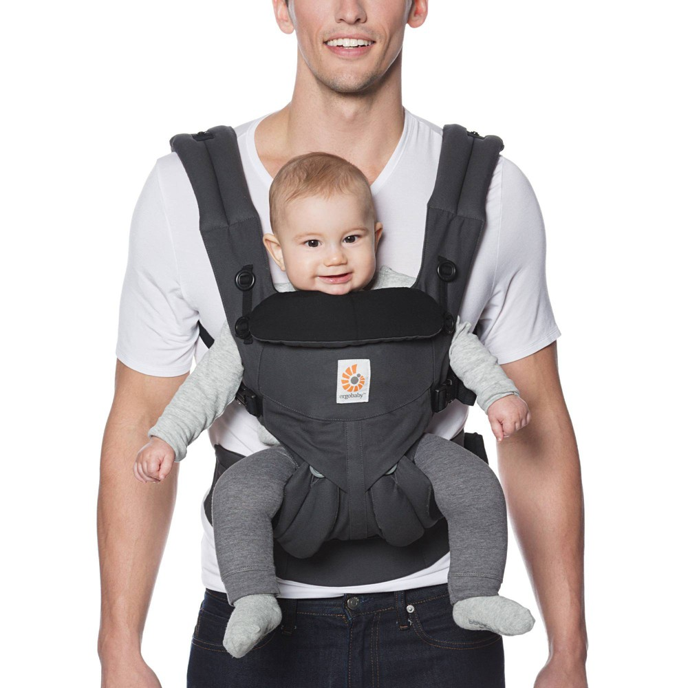 Image of Ergobaby Omni 360 Baby Carrier - Charcoal, Gray