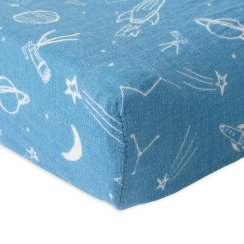 Red Rover Changing Pad Cover - Star Gaze - image 1 of 4