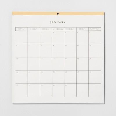 2019 Wall Calendar - Hearth & Hand™ with Magnolia