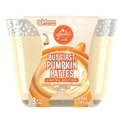 Glade Pumpkin Spice Latte Candle - 6.8oz