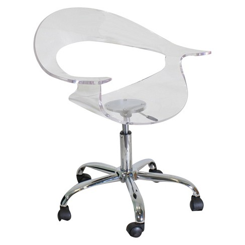 Acrylic Rumor Chair Clear Lumisource