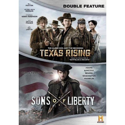 Texas Rising / Sons of Liberty (DVD)(2016)