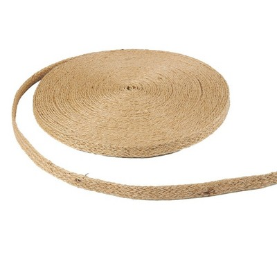 Juvale Natural Jute Rope Ribbon Twine, 25-Yard Roll (0.5 Inches)
