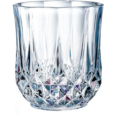 Cristal D'Arques Longchamp 10.75oz Lowball Glass - Set of 4