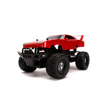 Fast and Furious 1:12 4x4 1970 Dodge Charger Daytona Elite RC Remote Control Car 2.4 Ghz