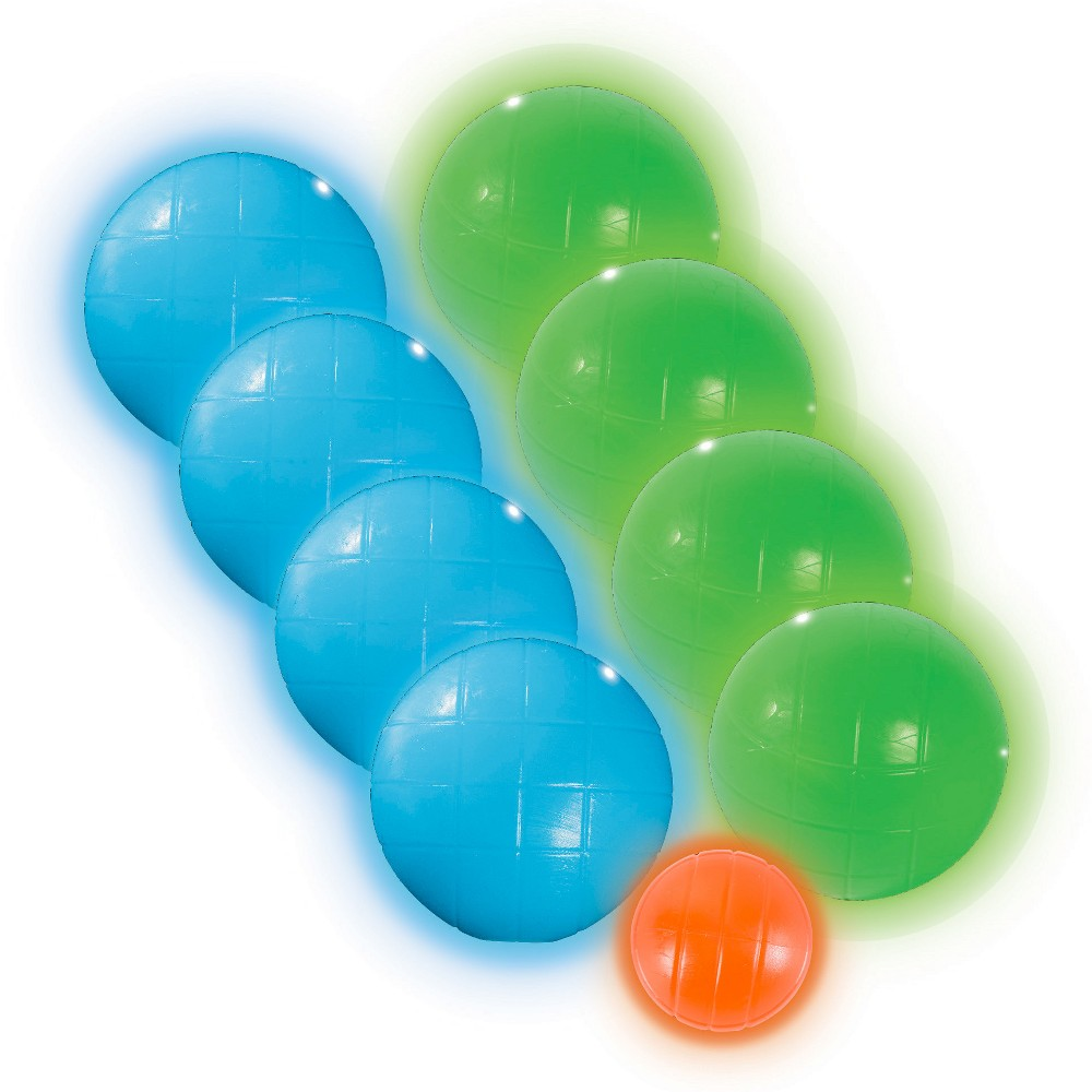 Franklin Sports Light Up Bocce Set