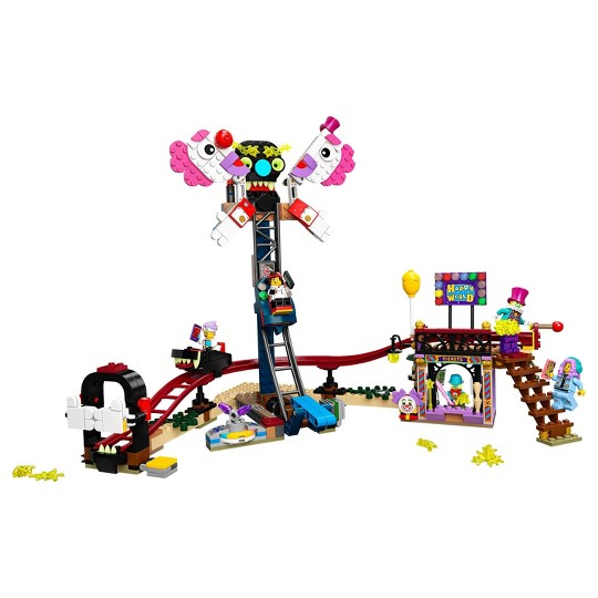 LEGO Hidden Side Haunted Fairground 70432 Awesome AR Ghost Hunting Toy image number null