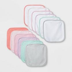 Baby Girls' 12pk Washcloth Set - Cloud Island™ Purple One Size