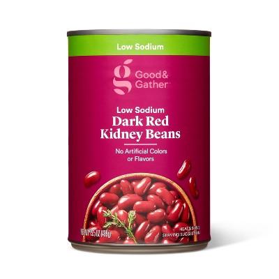 Low Sodium Dark Red Kidney Beans  - 15.5oz - Good & Gather™