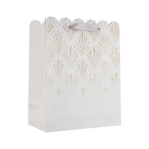 Small Elegant Scallop Gift Bag - Spritz™ - image 1 of 2