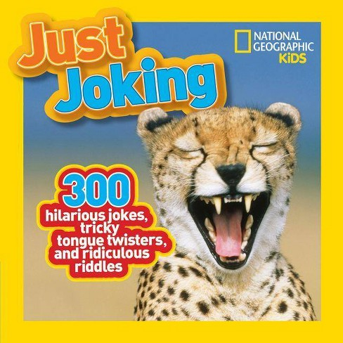 Just Joking - (National Geographic Kids) (Paperback) - image 1 of 1