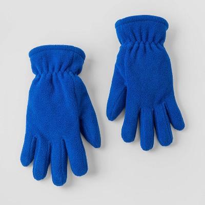 Boys' Fleece Gloves - Cat & Jack™ Blue