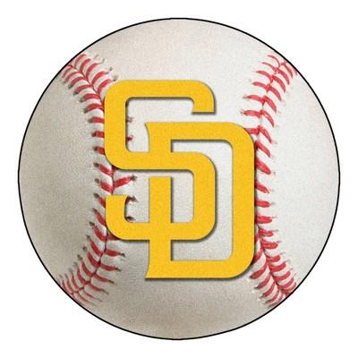 "MLB San Diego Padres 27""x27"" Roundel Rug"