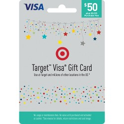 Visa Gift Card - $50 + $5 Fee