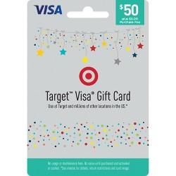 Visa Gift Card - $50 + $5 Fee