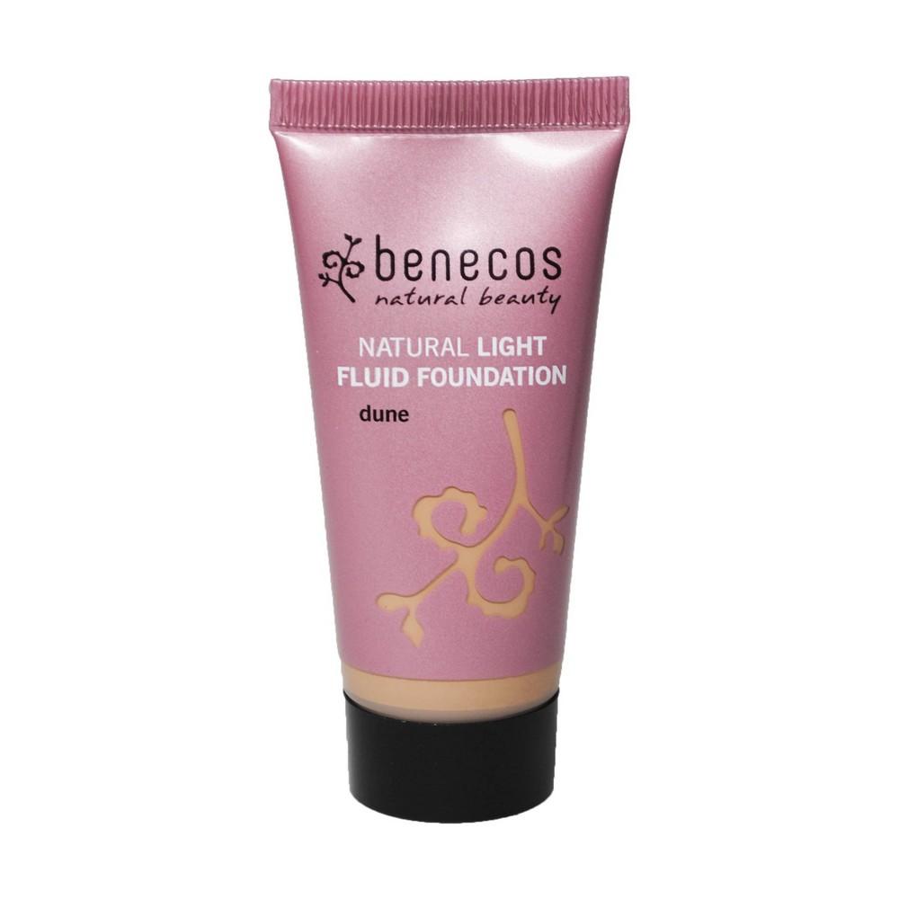 Image of benecos Natural Light Fluid Foundation Dune