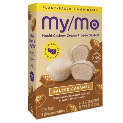 My/Mo Mochi Non Dairy Frozen Dessert Salted Caramel  - 6ct