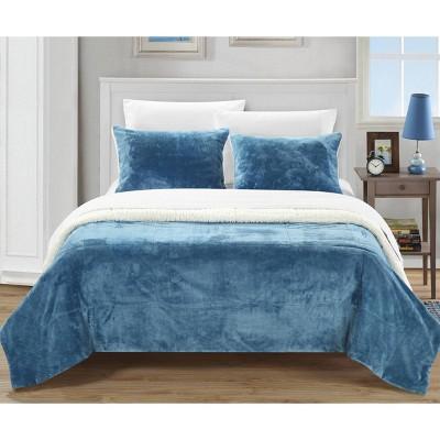 Ernest 2 Piece Sherpa Blanket
