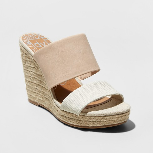 Women's dv Adelina Two Band Wedge Espadrille Sandals - image 1 of 3
