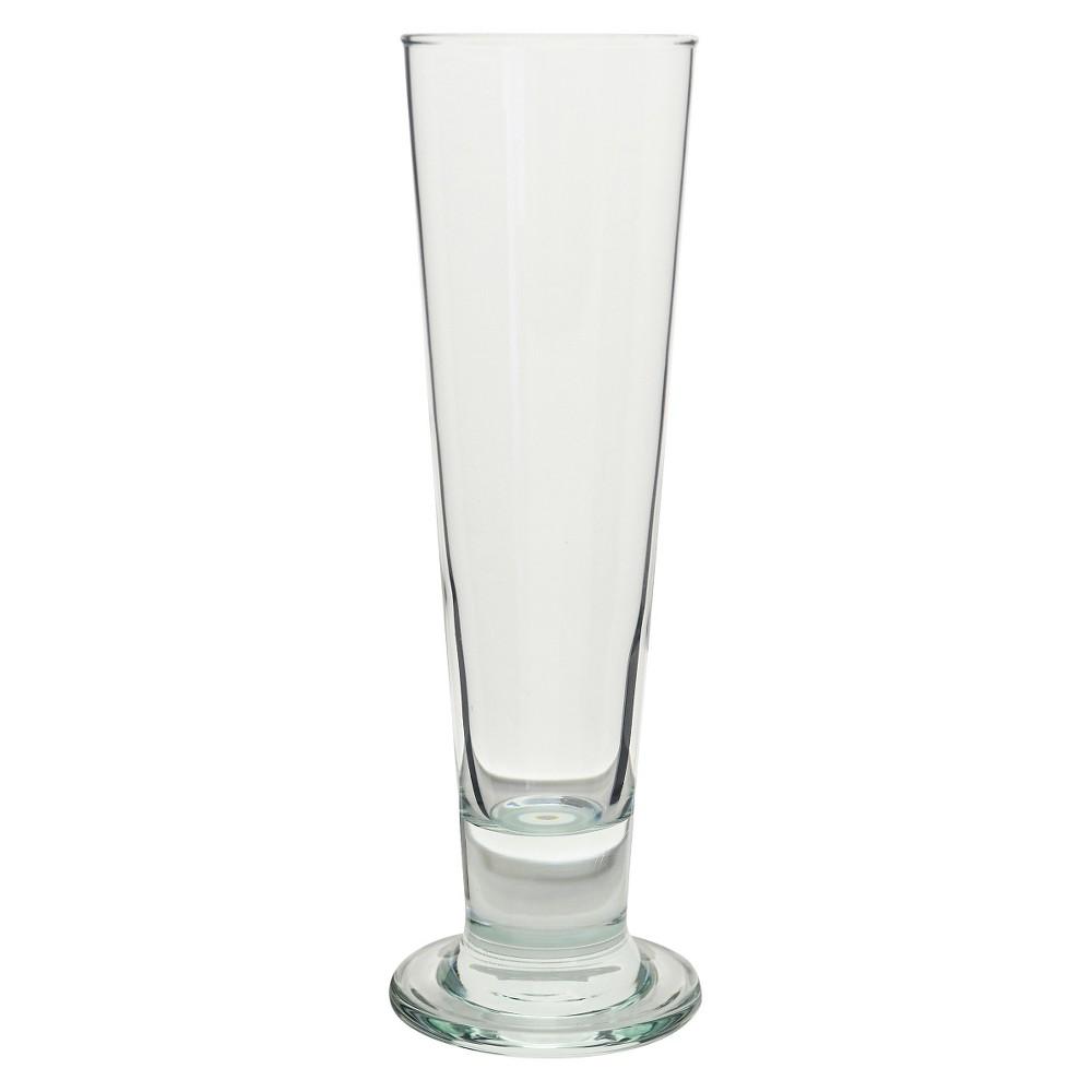 Image of 10 Strawberry Street Rostock Footed Pilsner Glasses 14oz - Set of 6