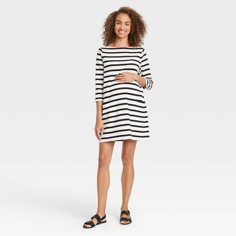The Nines by HATCH™ 3/4 Sleeve Maternity Dress  - image 1 of 3