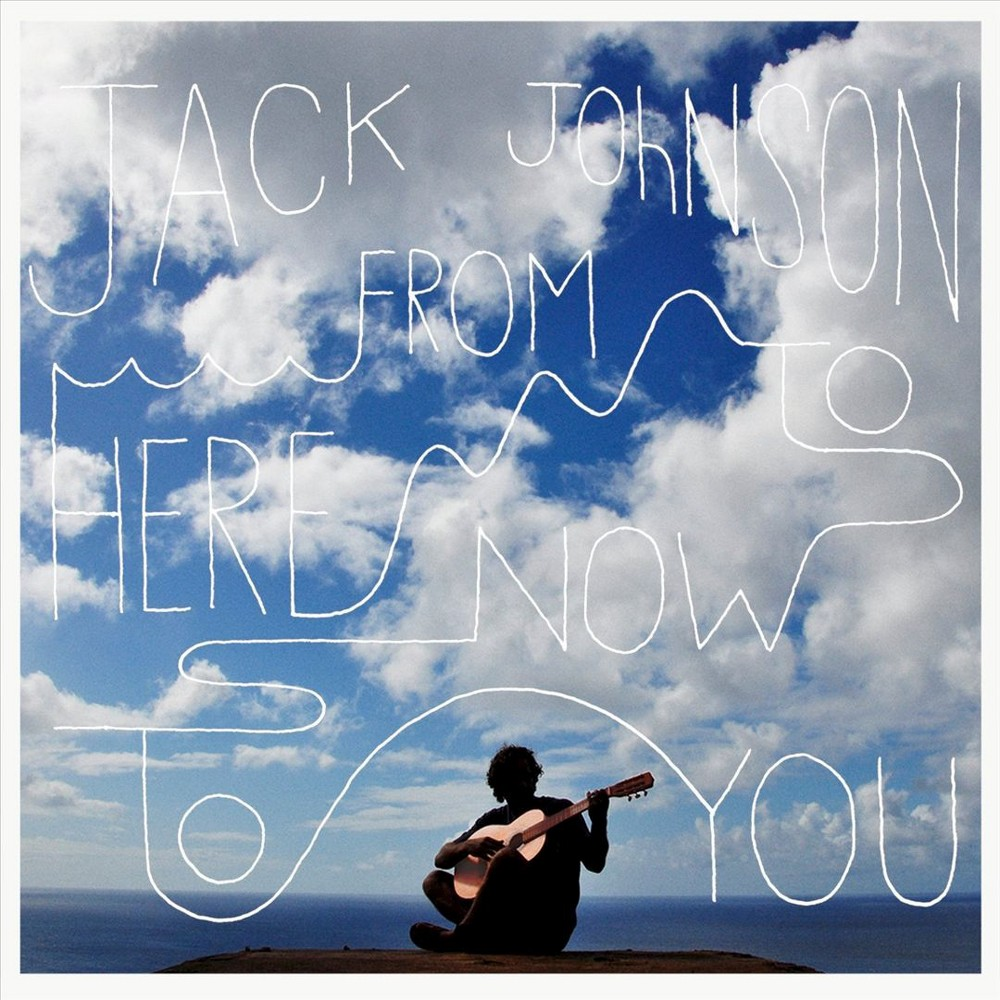 Jack Johnson From Here To Now To You Vinyl