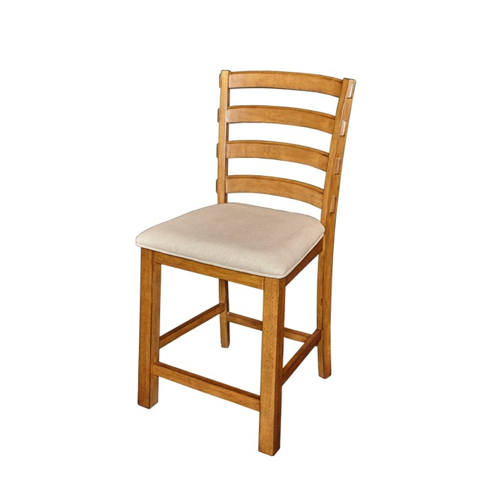 """21.5"""" Marcus Counter Stool Chestnut - Powell Company - image 1 of 4"""