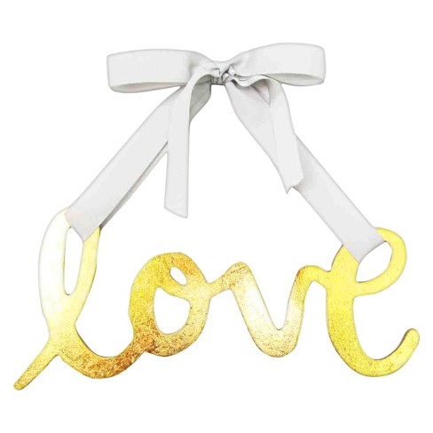 Wood Sign Love Party Decoration - Spritz™ - image 1 of 1