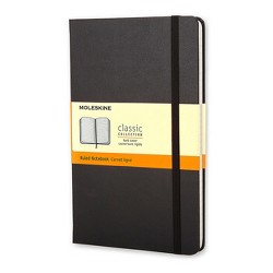 Lined Composition Journal Black Hardcover - Moleskine