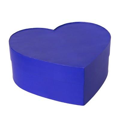 sc 1 st  Target & Valentineu0027s Day Large Heart Shape Rigid Gift Box Navy - Spritz™ : Target