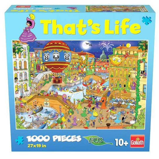 Goliath That's Life: The Venice Puzzle 1000pc image number null