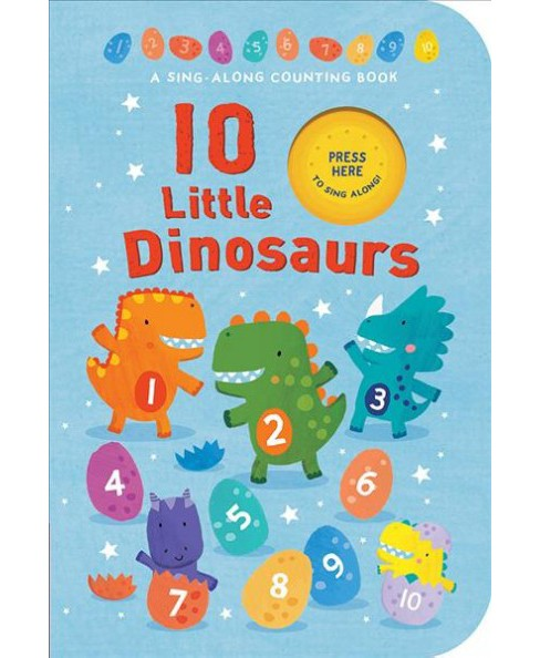 10 Little Dinosaurs -  (Hardcover) - image 1 of 1