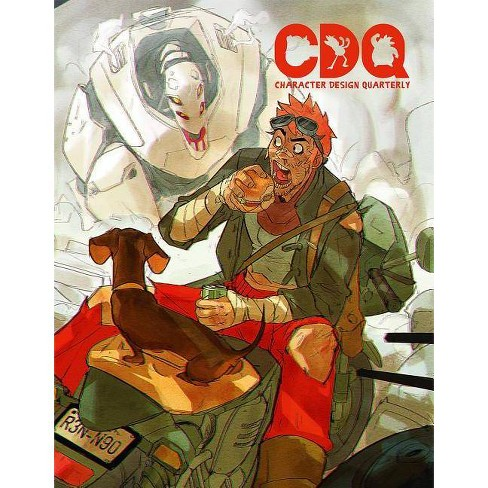 Character Design Quarterly 8 - (Paperback) - image 1 of 1
