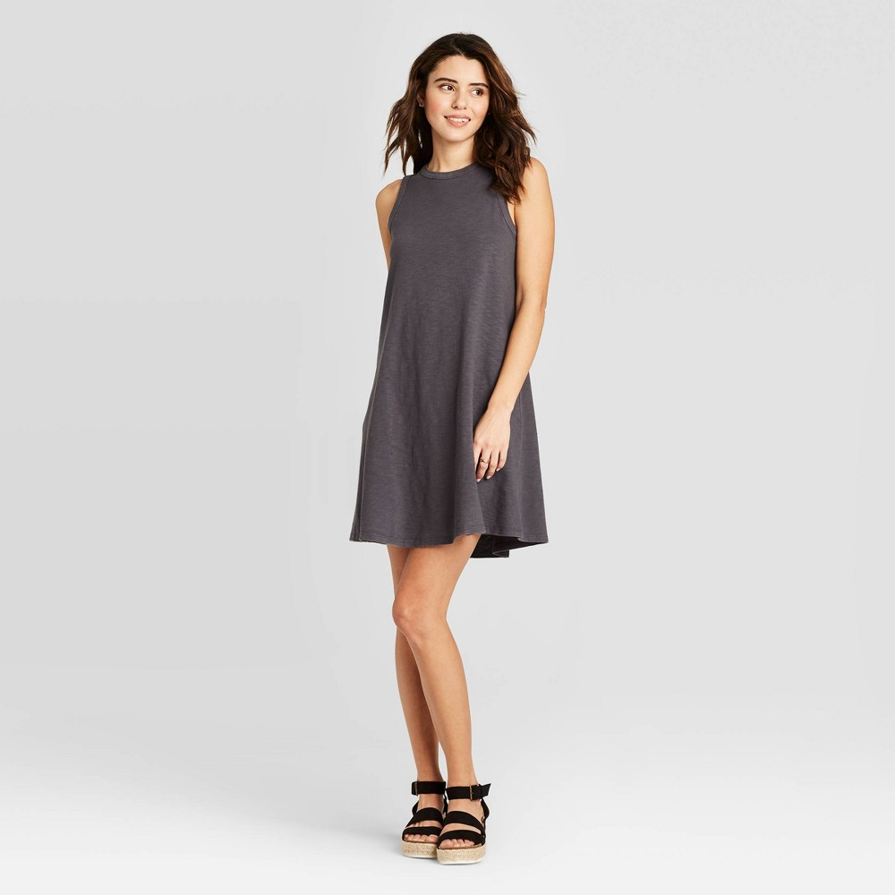 Women's Sleeveless Tank Dress - Universal Thread Gray S was $15.0 now $10.0 (33.0% off)
