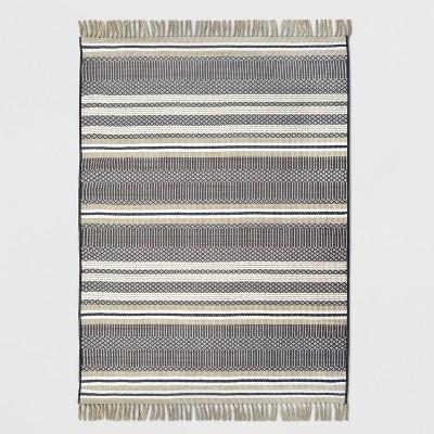 5' x 7' Global Stripe Outdoor Rug Neutral - Threshold™