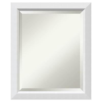 Cabinet Mirror Blanco White 19 x23  - Amanti Art