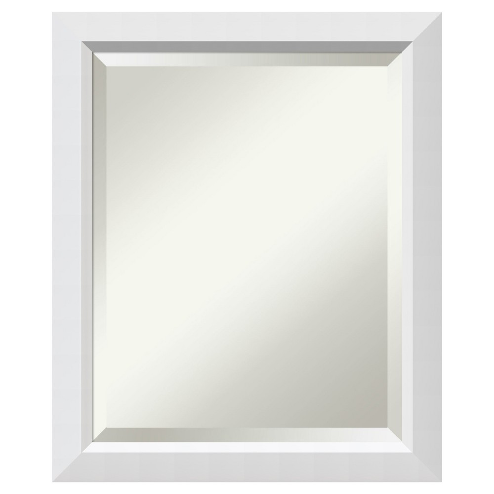 "Image of ""Cabinet Mirror Blanco White 19""""x23"""" - Amanti Art"""