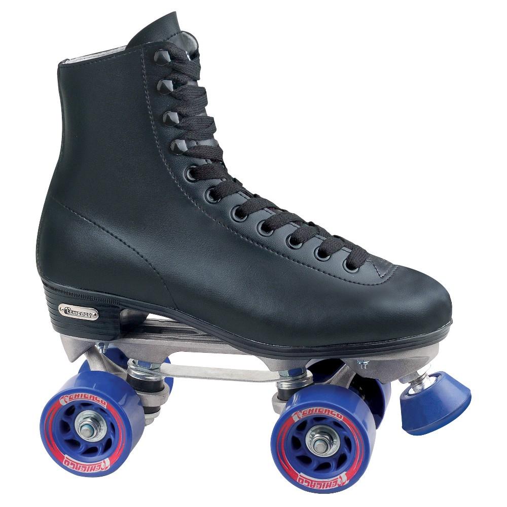 Chicago Men's Rink Roller Skates - 1, Black White