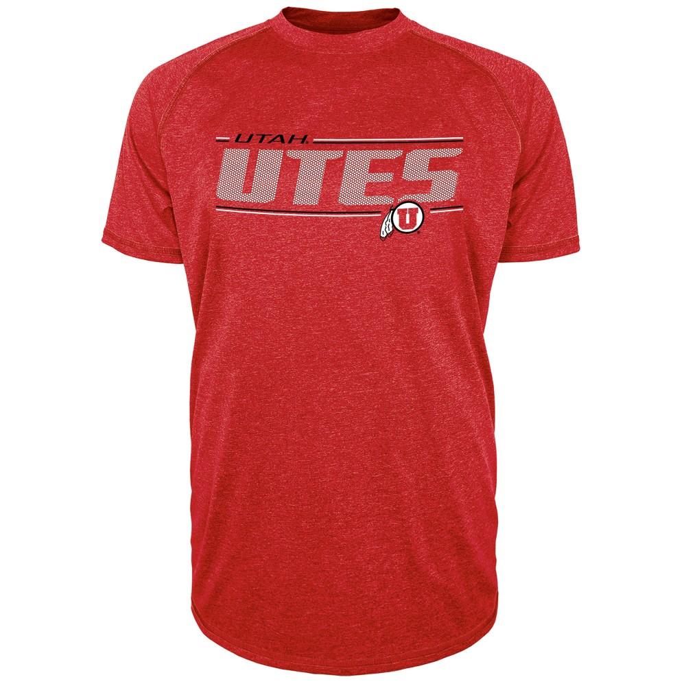Utah Utes Men's Team Speed Poly Performance T-Shirt L, Multicolored